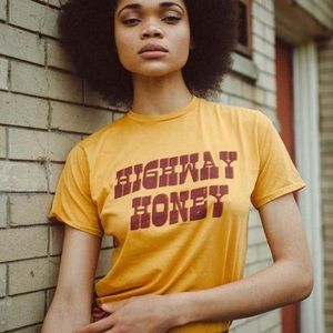 Electric West highway Honey t-shirt